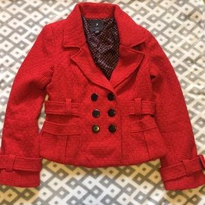 Cropped Red jacket